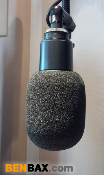 Audio Technica AT2020 microphone windshield