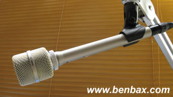 Shure SM81 with A81G